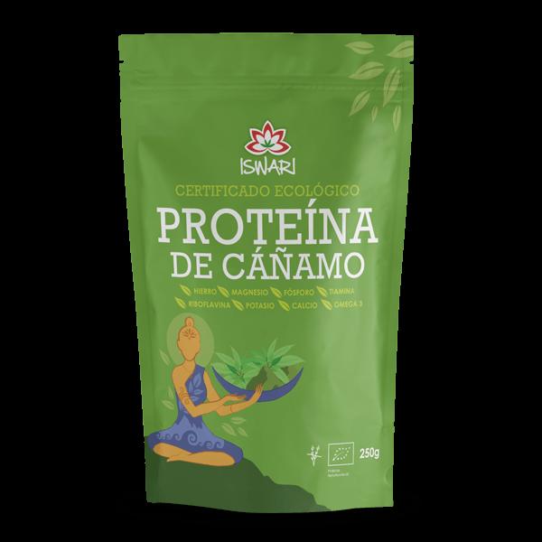 Proteina de Cânhamo Bio 250g ES