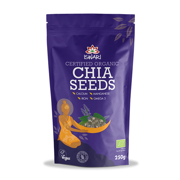 Sementes de Chia Bio 250g UK