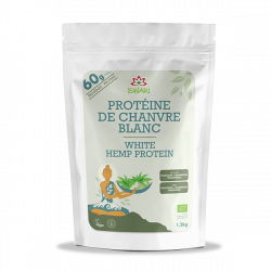 Proteina de Canhamo Branca Bio 1,2Kg FRUK