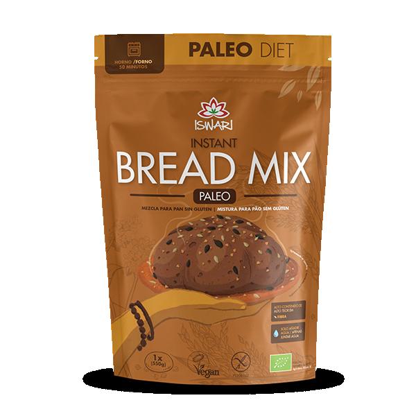 Instant Bread Mix PALEO Bio 300g PTES