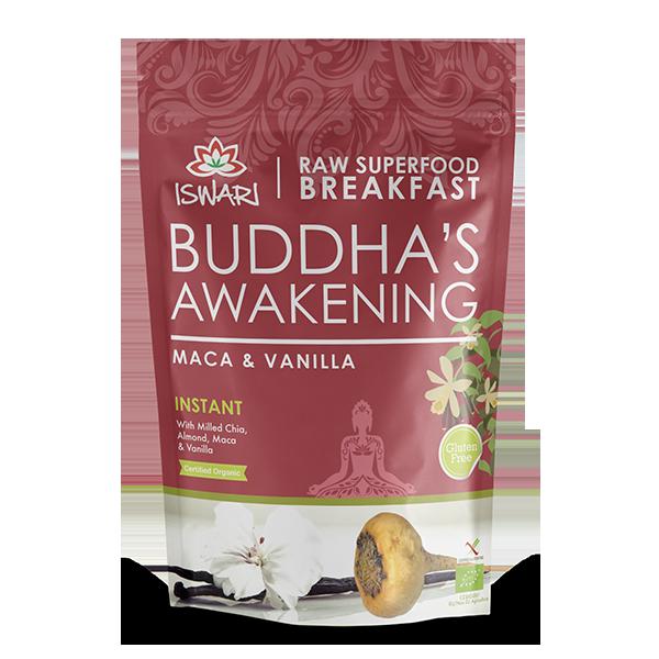 Despertar de Buda - Maca & Baunilha Bio 360g UK