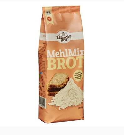 Flour Blend for Gluten Free Organic Bread - Bauck Hof (800g) 1