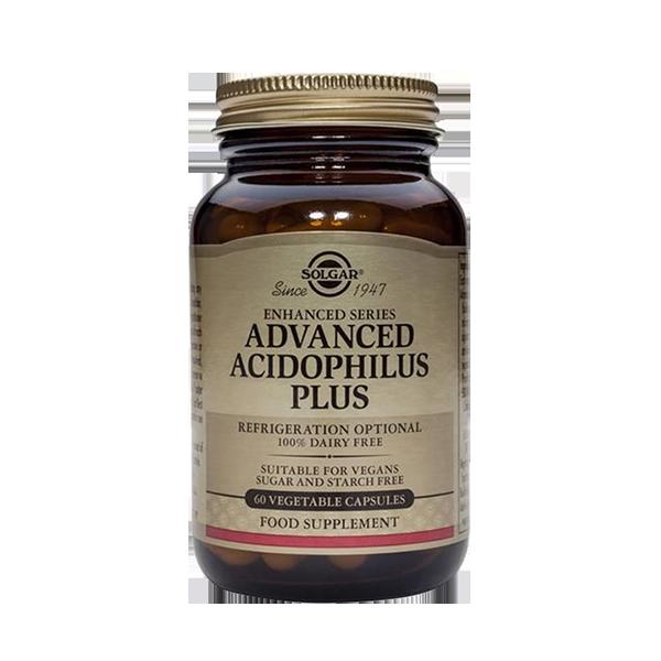 Advanced Acidophilus Plus - Solgar (60 capsule) 1