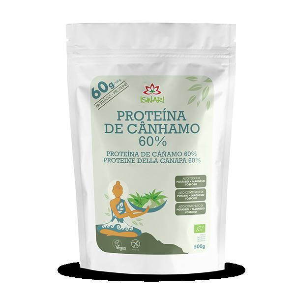 Proteína de Cânhamo 60% em Pó Bio