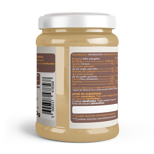 Crema de Cacahuete Crujiente Bio 2