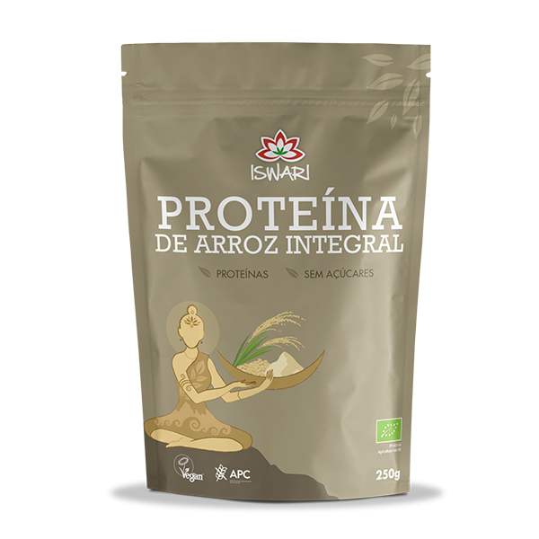 Proteína de Arroz em Pó Bio
