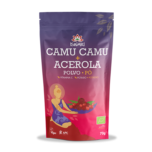 Camu Camu e Acerola em Pó