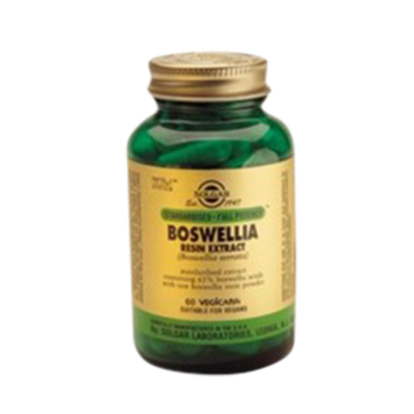 Extrato da Resina de Incenso Indiando (Boswellia) - Solgar (60Caps) 1