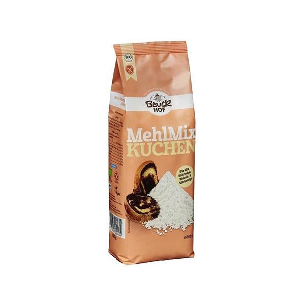 Mezcla de harinas para pastelería bio sin gluten - Bauck Hof (800g) 1