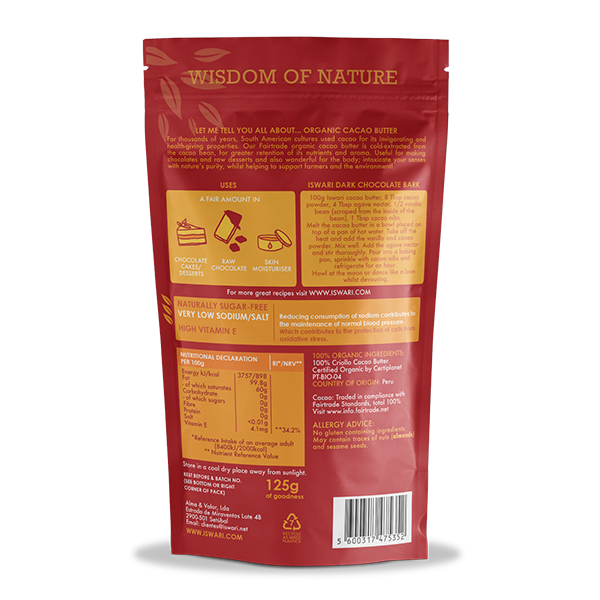 Cacao Butter Bio 2