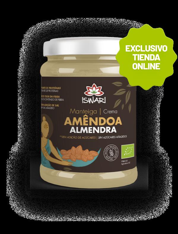 Crema de Almendras Bio