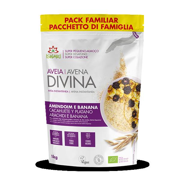 Avena Divina Cacahuete y Plátano 3