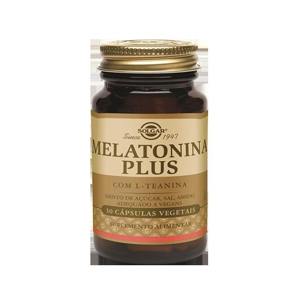 Melatonina Plus - Solgar (30 Caps) 1