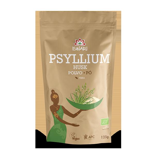 Psyllium Husk em Pó Bio