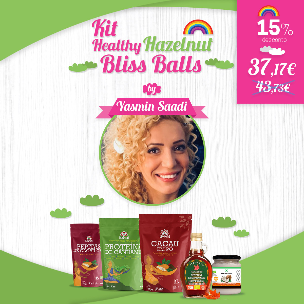 Kit Healthy Hazelnut Bliss Balls by Y. Saadi 1