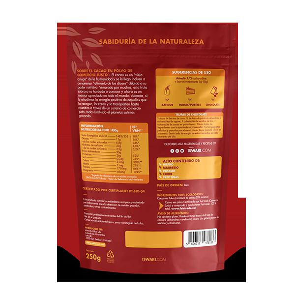 Cacao en Polvo Bio 3