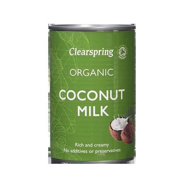 Leite de Coco Bio - Clearspring (400ml) 1