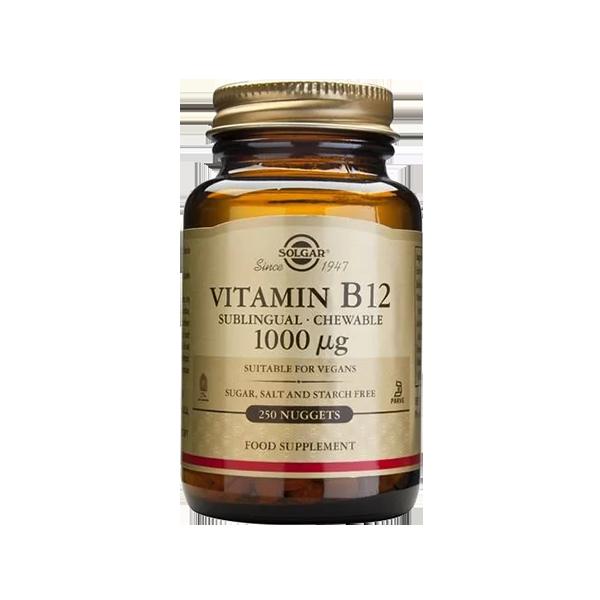 Vitamina B12 1000 MCG - Solgar (250 caps) 1