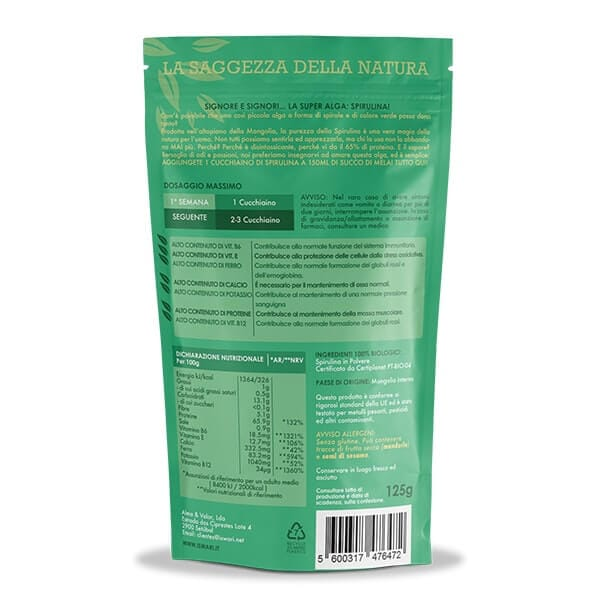 Spirulina in Polvere Bio 2