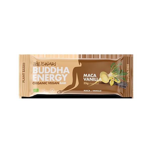 Buddha Energy Bar Maca & Vanilla  (15x35g) 2