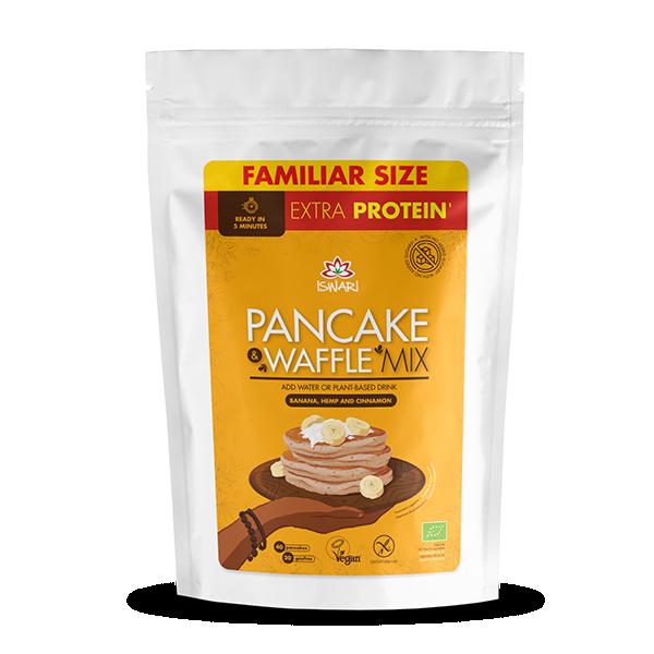 Pancake & Waffle Mix - Banana, Canapa e Cannella 3