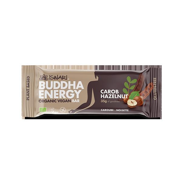Buddha Energy Bar Carruba e Nocciola (15x35g) 2