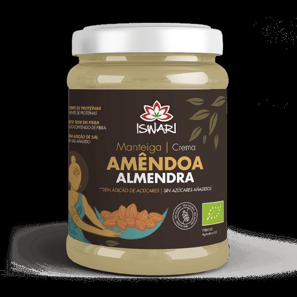 Manteiga de Amêndoa Bio