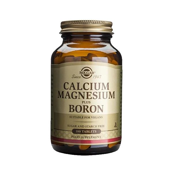 Calcium Magnesium Boron – Solgar 1