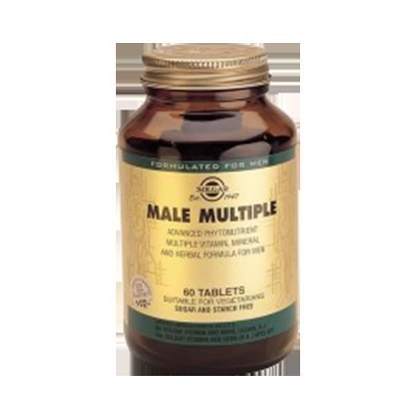 Male Multiple - Solgar (60 comprimidos) 1