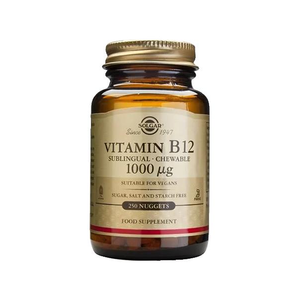 Vitamin B12 1000 Mcg - Solgar 1