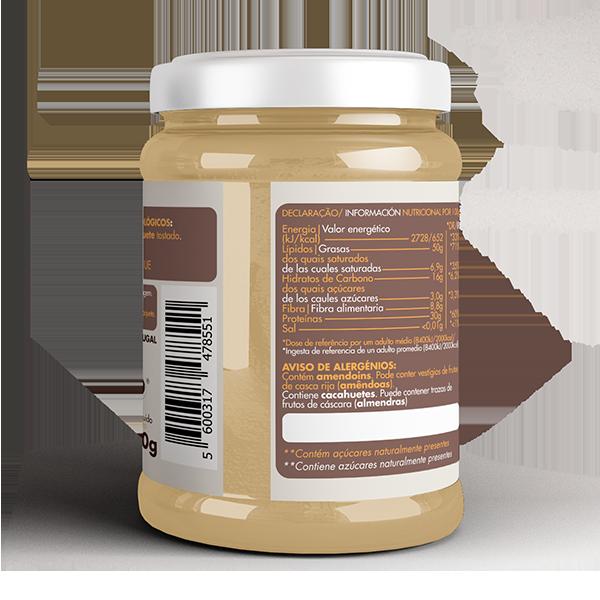 Crema de Cacahuete Cremosa Bio 2
