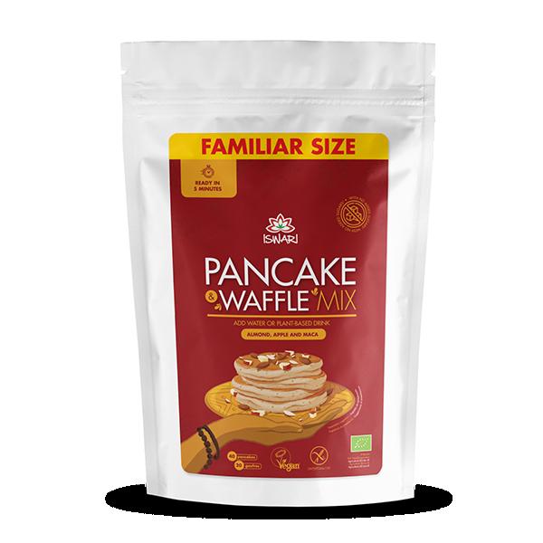 Pancake & Waffle mix - Mandorle, Mela e Maca 3