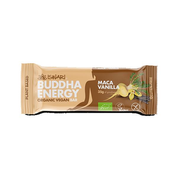 Buddha Energy Bar Maca y vainilla (15x35g) 2