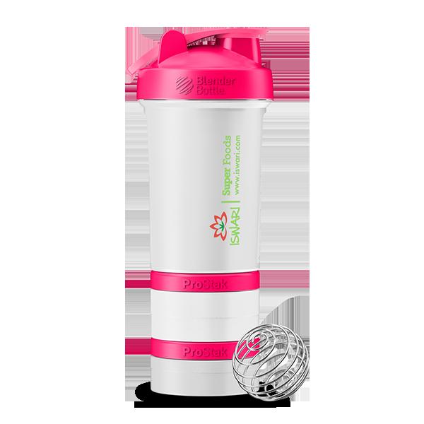 Shaker Iswari Prostack Clear Pink 1