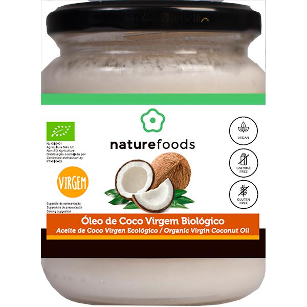 Aceite de coco virgen bio - Naturefoods (200g) 1