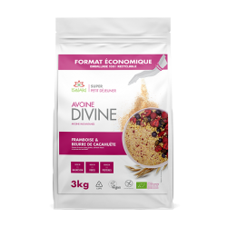 Avoine Divine Cacahuète et Framboise 3kg