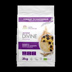 Avoine Divine Cacahuète et Banane 3kg