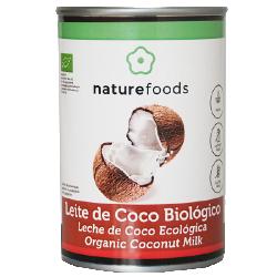 Leite De Coco Biológico - Naturefoods (400ml)