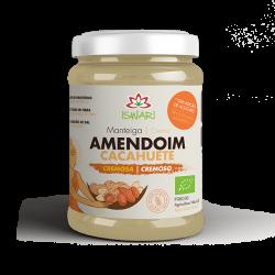 Manteiga de Amendoim Cremosa Bio
