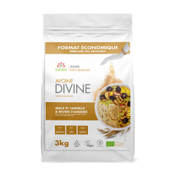 Avoine Divine Amandes, Maca et Cannelle 3kg