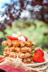 Pancake & Waffle mix - Mandorle, Mela e Maca 7