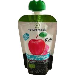 Compote de pomme bio - Naturefoods (100g)