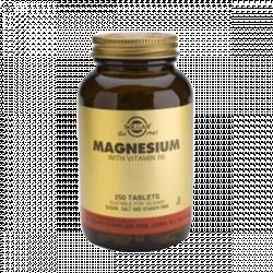 Magnésio com Vitamina B6 - Solgar (250 comprimidos)