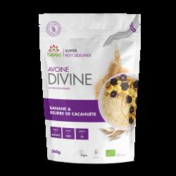 Avoine Divine Cacahuète et Banane