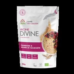 Avoine Divine Cacahuète & Framboise