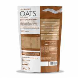 Gluten-Free Oats Hazelnut Butter & Cacao 2