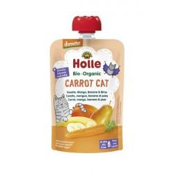 Carrot Cat Puré Frutos Bio 6M - Holle (100g) 1