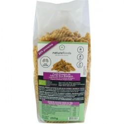 Fusilli Proteico de garbanzos bio - Naturefoods (250g)