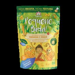 Pequeno Buda de Banana e Maçã