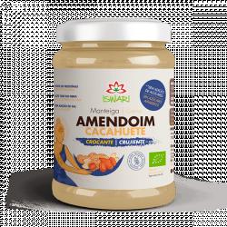 Manteiga de Amendoim Crocante Bio